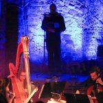"""20.3.16 - Armin Zarbock liest """"Die Maske des Roten Todes"""" in Begleitung von MusikerInnen des Gewandhausorchesters"""